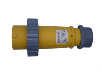 110v  16a IP67 rated industrial mennekes plug Typ: 277  <br />